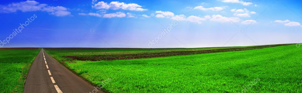 Landscape panoramic — Stock Photo #2075179