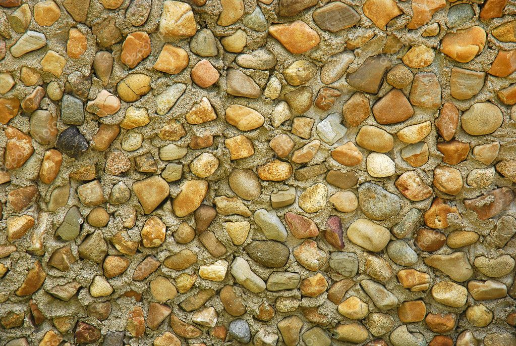 Wall background texture with stones  Stock Photo #2076358