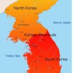 Korea map — Stock Vector #2080141