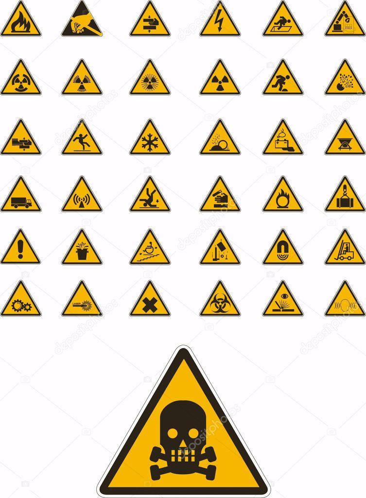 Dreieck zeichen chat