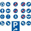 Royalty-Free Stock Imagen vectorial: Vector traffic signs