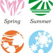 Royalty-Free Stock Vector Image: Seasons