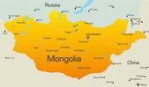 Mongolia — Stock Vector