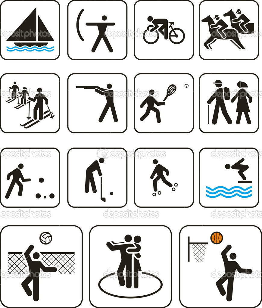 olympic event symbols