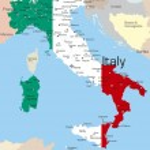İtalya — Stok Vektör #2121216