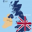 Great Britain — Image vectorielle