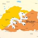 Bhutan — Stock Vector #2121449