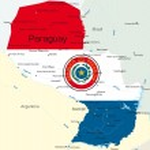 Paraguay — Stock Vector