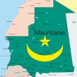 Mauritania — Stock Vector