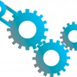 Royalty-Free Stock Vector Image: Gears machinery