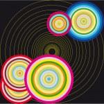 Vector circle illustration — Stock Vector