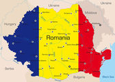 Romania — Stock Vector