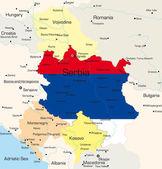 Serbia — Stock Vector