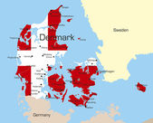Denmark — Stock Vector