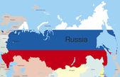 ロシア — ストックベクタ