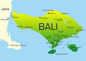 Bali — Stock Vector