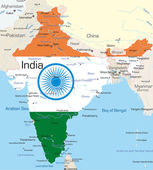 Indie — Stock vektor