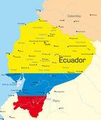 Ecuador — Stock Vector