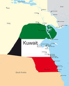 Kuwait — Stock Vector