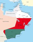 Oman — Vettoriale Stock