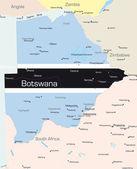 Botswana — Stockvektor
