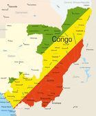 Congo — Stockvector