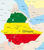 Etiopia — Wektor stockowy