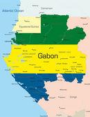 Gabon — Stock Vector