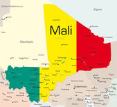 Mali — Stock Vector