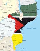 Mozambique — Stock Vector