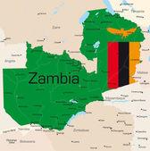 Zambia — Stock Vector