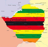 Zimbabwe — Stock Vector