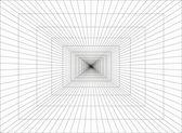 3d mesh area — Stock Vector