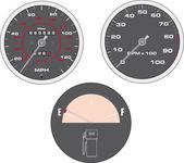 Prędkościomierz — Wektor stockowy