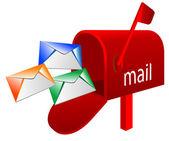メールボックス — ストックベクタ