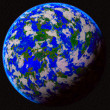 Blue planet — Stock Photo