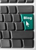 """Blog"" key — Stock Photo"