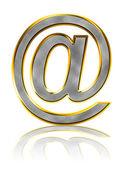 Bling e-mail symbol — Stock Photo
