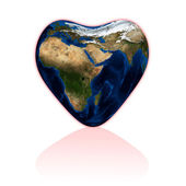 Love earth — Stock Photo