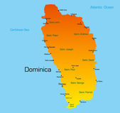 Dominica — Stock Vector
