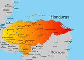 Honduras — Stock Vector