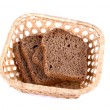 Bread at basket — Stock Photo #2149884