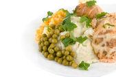 Healthy restaurant food — Stock Photo