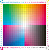 Cmyk color — Stock Vector