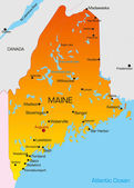 Maine — Vetorial Stock