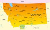 Montana — Stock Vector