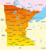 Minnesota — Stock Vector