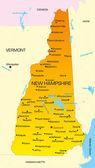 New Hampshire — Stock Vector