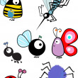 Insects set — Stock Vector #2139338