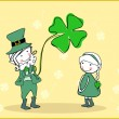 Royalty-Free Stock Vector Image: Happy st patrick`s day
